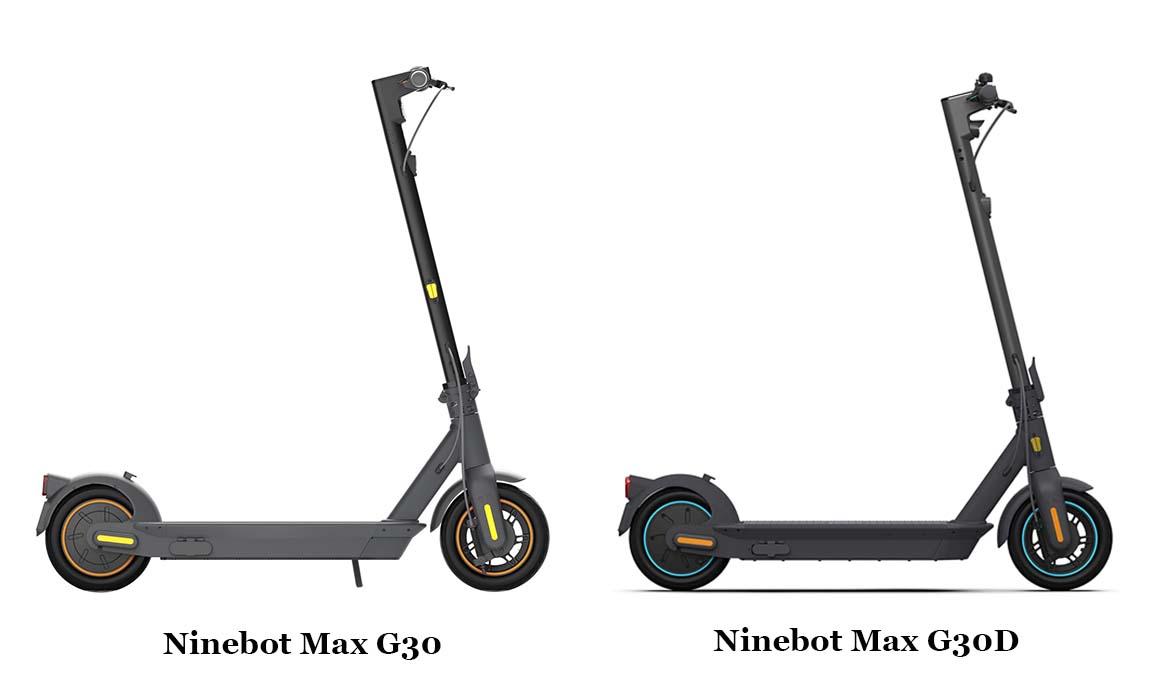 Ninebot Max G30 vs Ninebot Max G30D