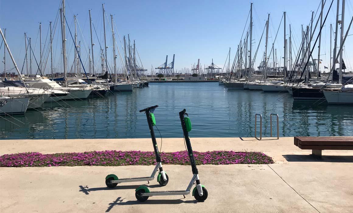 Elektrische-step-Spanje